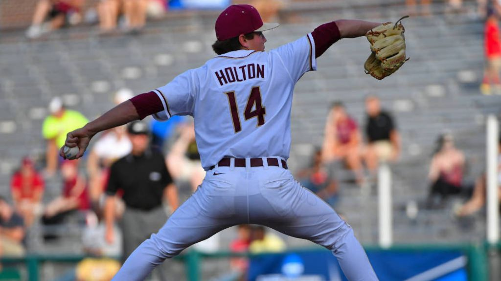 Holton Earns Third ACC Pitcher of the Week Honor