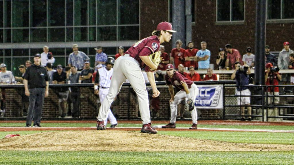 Noles Take Series at No. 2 Louisville on Another Holton Gem