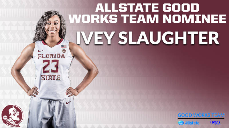 Slaughter Named Good Works Nominee
