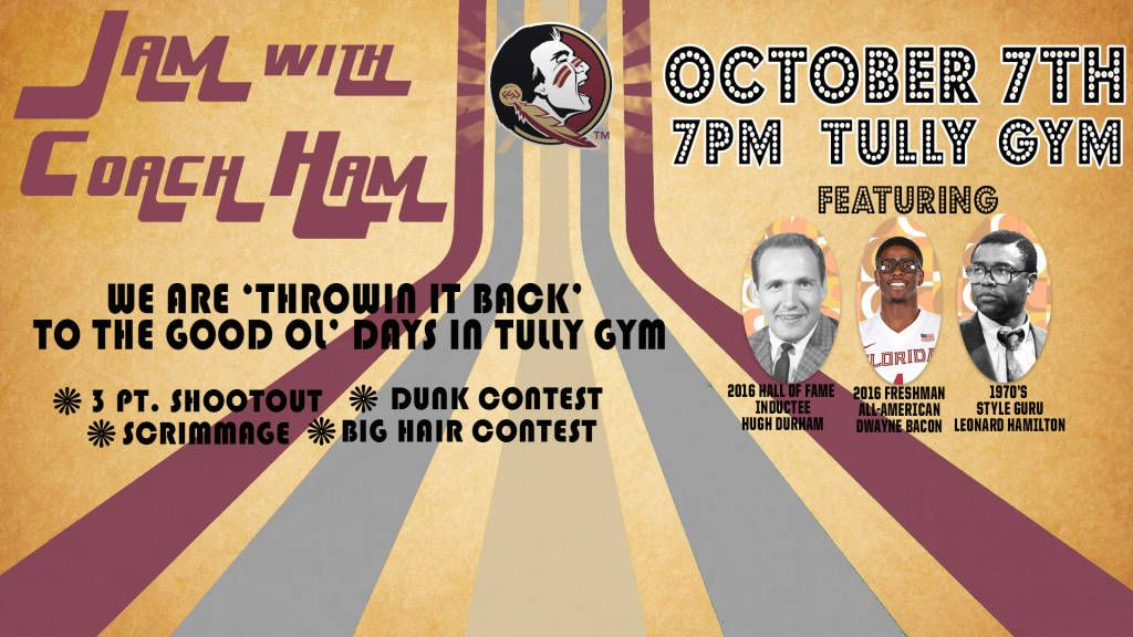 Jam With Ham Set For Oct. 7 At Tully Gym