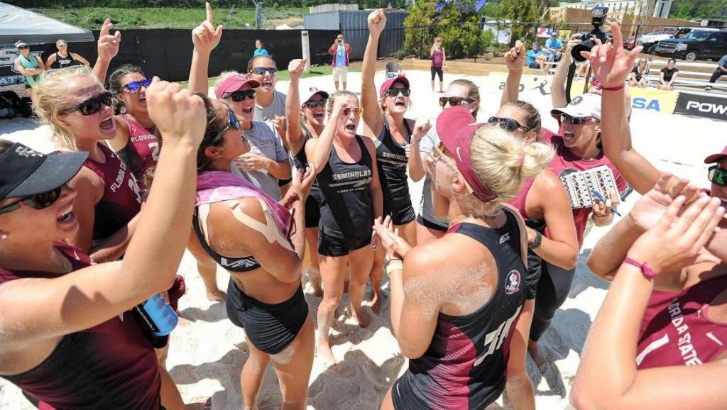 FSU Claims Top Seed in NCAA Beach Volleyball Championship