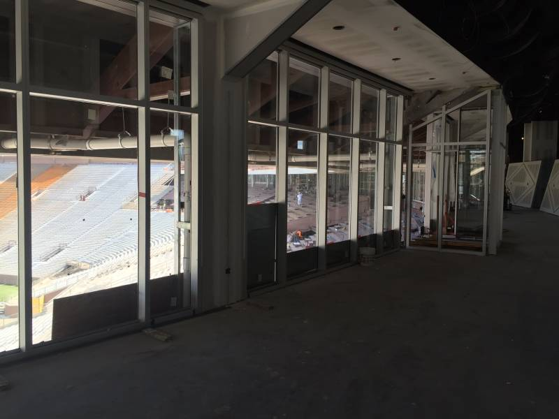 Champions Club, Stadium Construction On Schedule Through Summer