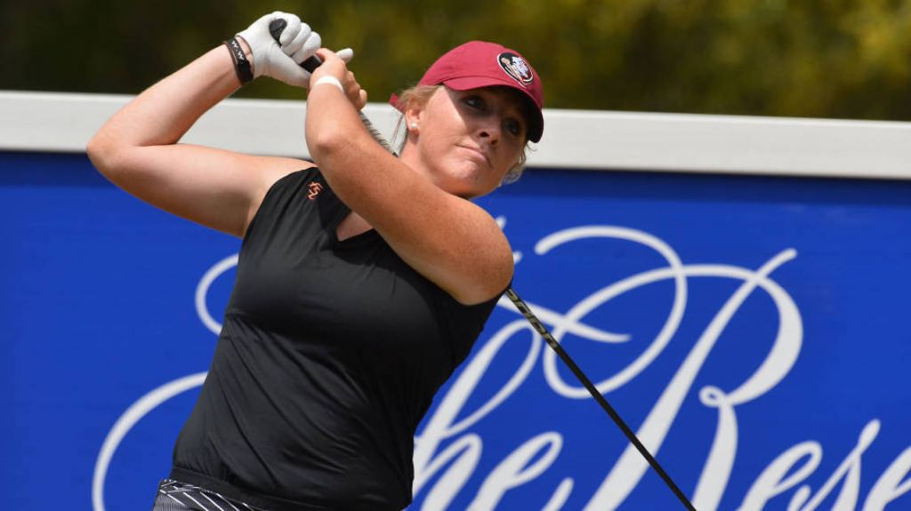 Gumm Leads Women's Golf To 2nd Place Finish in ACC Championships