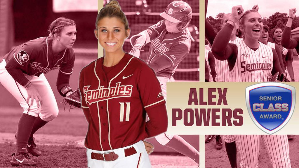 Alex Powers Wins 2017 Senior CLASS Award
