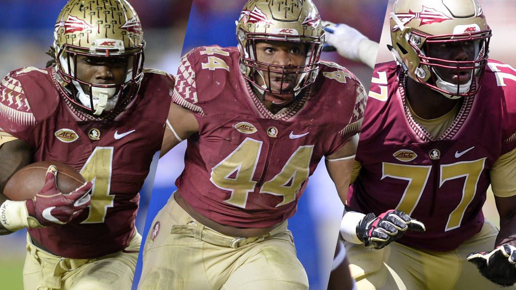 Cook Tops Group Of Four Seminole All-Americans