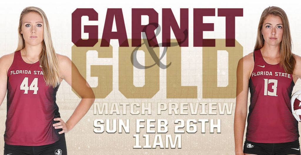Beach Volleyball Hosts Garnet and Gold Exhibition on Sunday