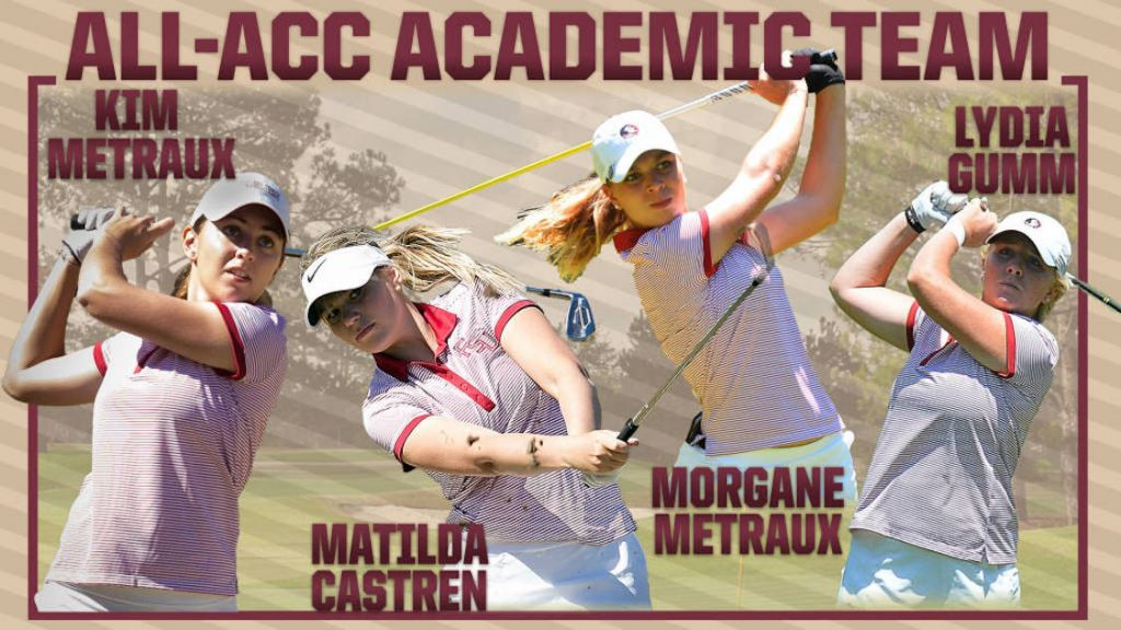 Four Seminoles Named To All-ACC Academic Team
