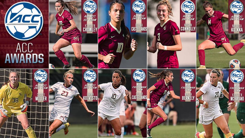 Soccer Places Eight On 2016 All-ACC Teams