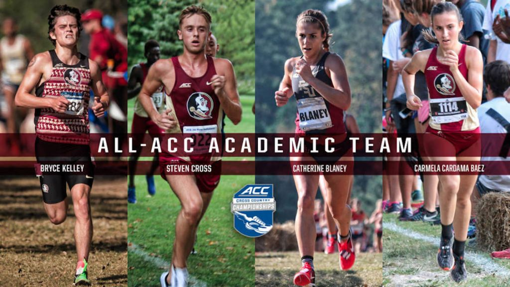 Cross Country Quartet Honored By ACC