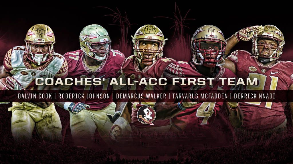 Five Noles Among Coaches' All-ACC Selections