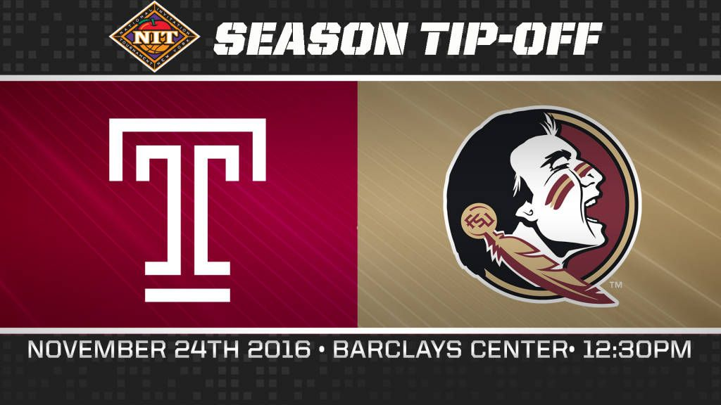 Seminoles To Face Temple In NIT Season Tip-Off
