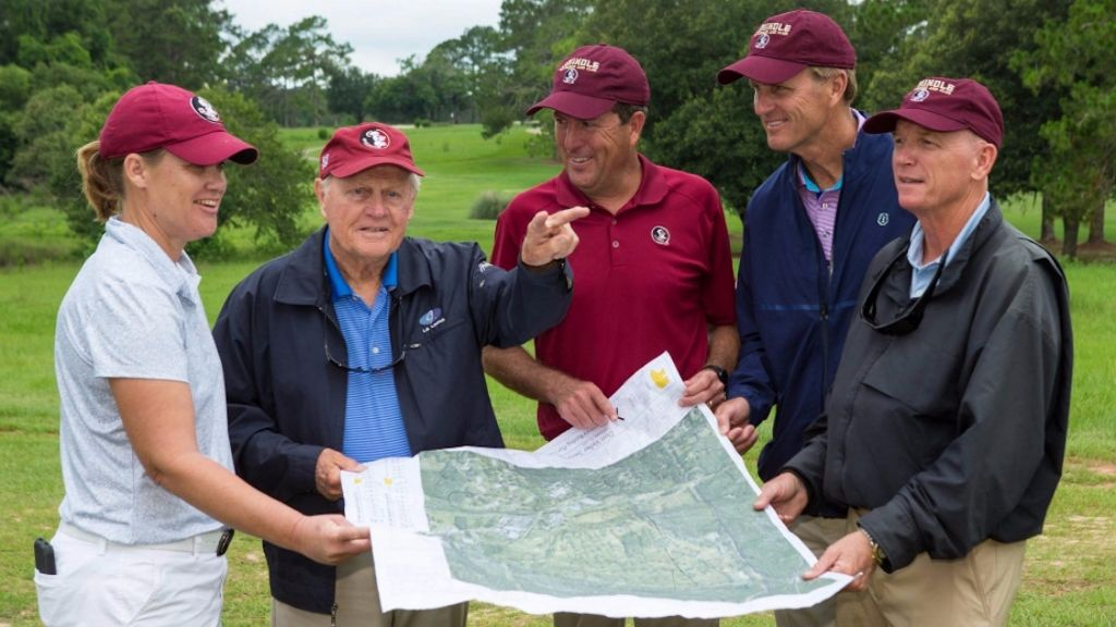Golf Legend Nicklaus Begins Seminole Golf Course Redesign