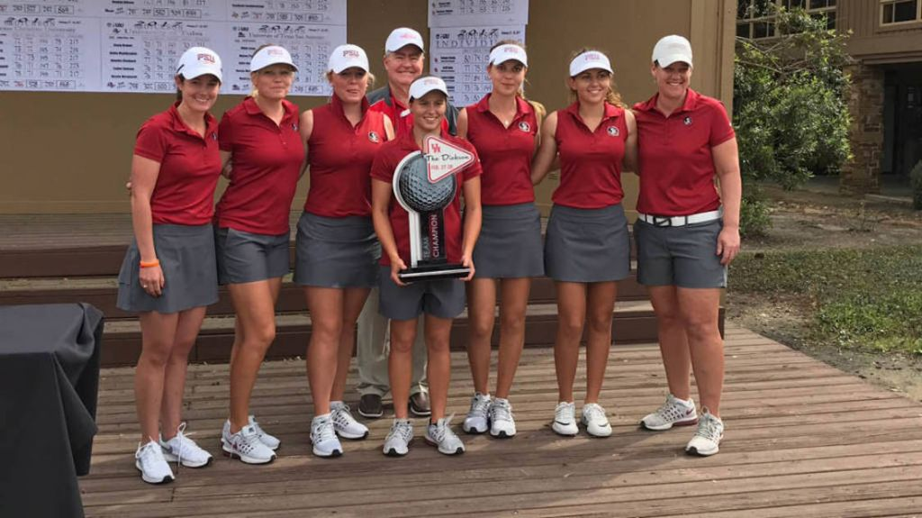 No. 3 Women's Golf Wins The Dickson Championship