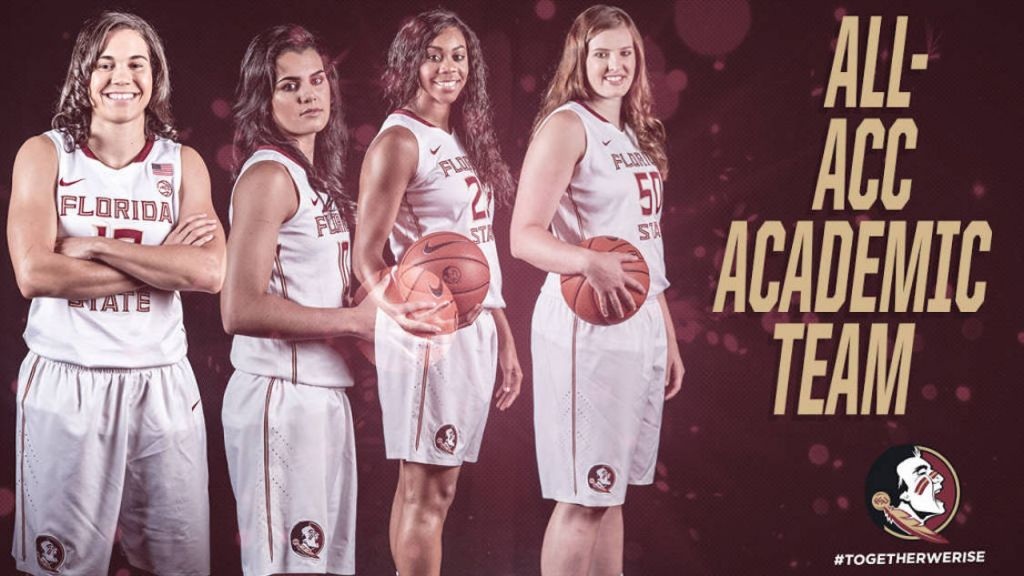 Four Noles Make All-ACC Academic Team