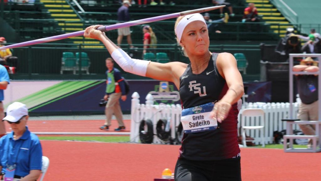 Knibb Rides Lifetime-Best To NCAA Discus Silver