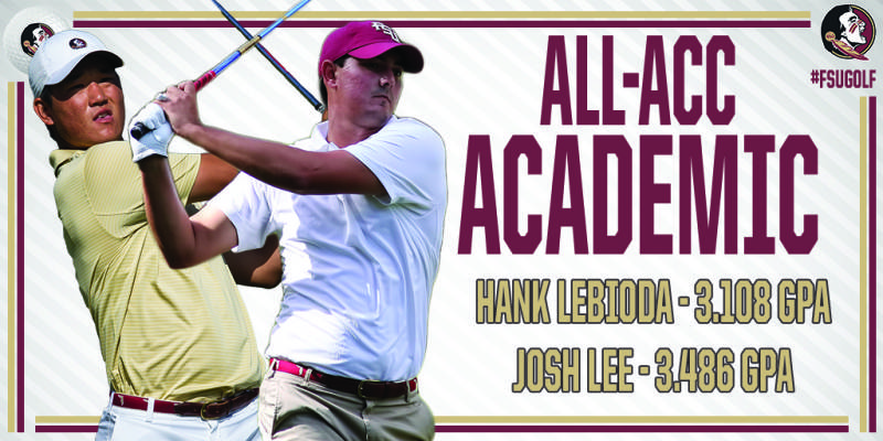 Lebioda and Lee Named to All-ACC Academic Team