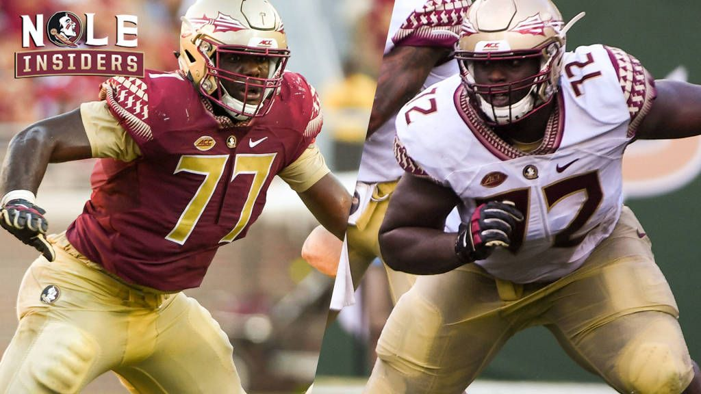 Big Men Up Front: Johnson And Are Anchor The Left Side