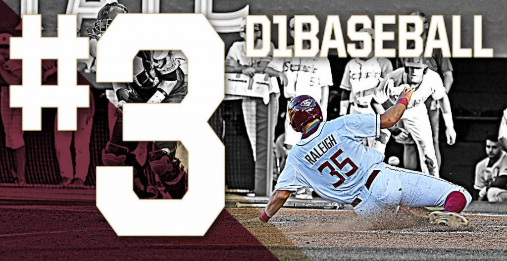 Baseball opens season ranked No. 3 by D1Baseball.com