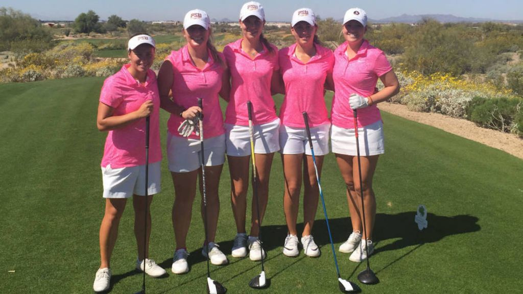 No. 3 Women's Golf Begins Play At Clover Cup