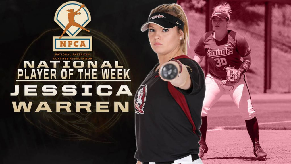 No. 1 FSU At No. 3 UF Preview; Warren Earns Nat'l Honor