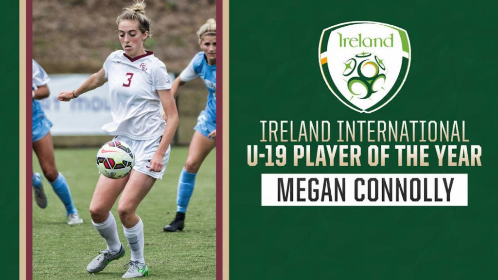 Megan Connolly Named Ireland's U-19 Women's Player Of The Year