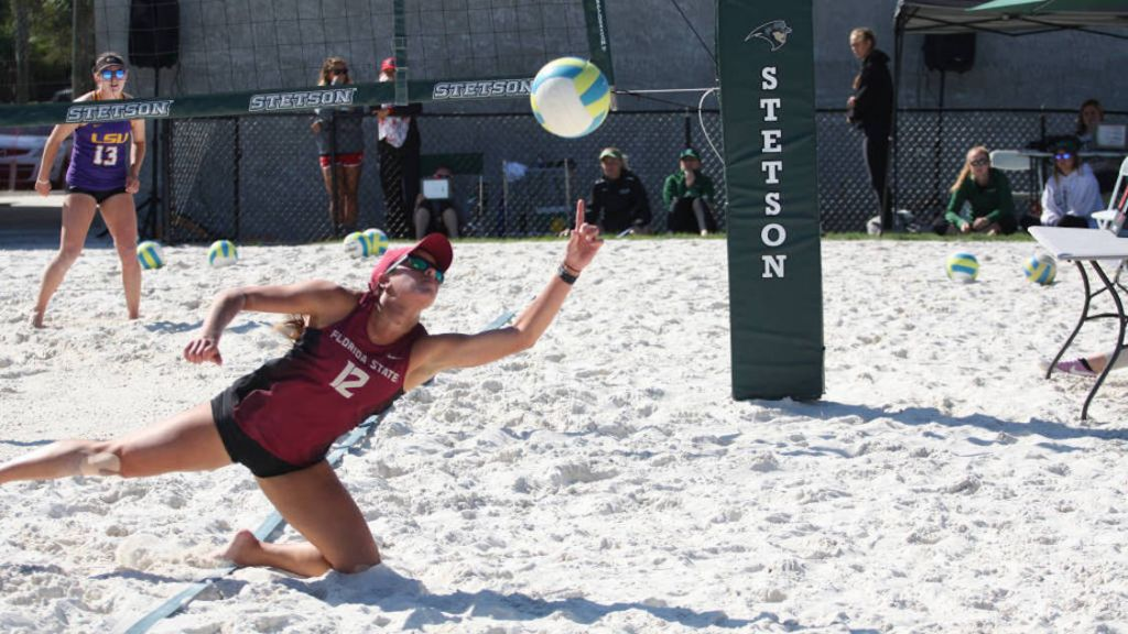 No. 2 Florida State Beach Volleyball Continues Hot Start