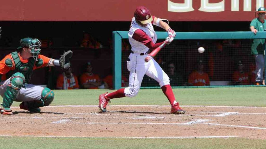 Lueck Walk-Off Home Run Gives FSU Split in Doubleheader