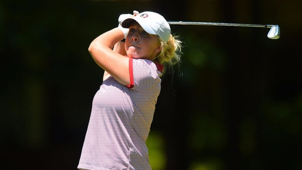 Women's Golf in Third at Clover Cup