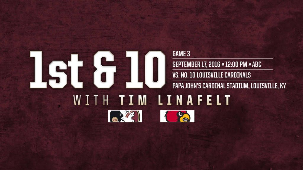 First and 10: No. 2 Florida State at No. 10 Louisville