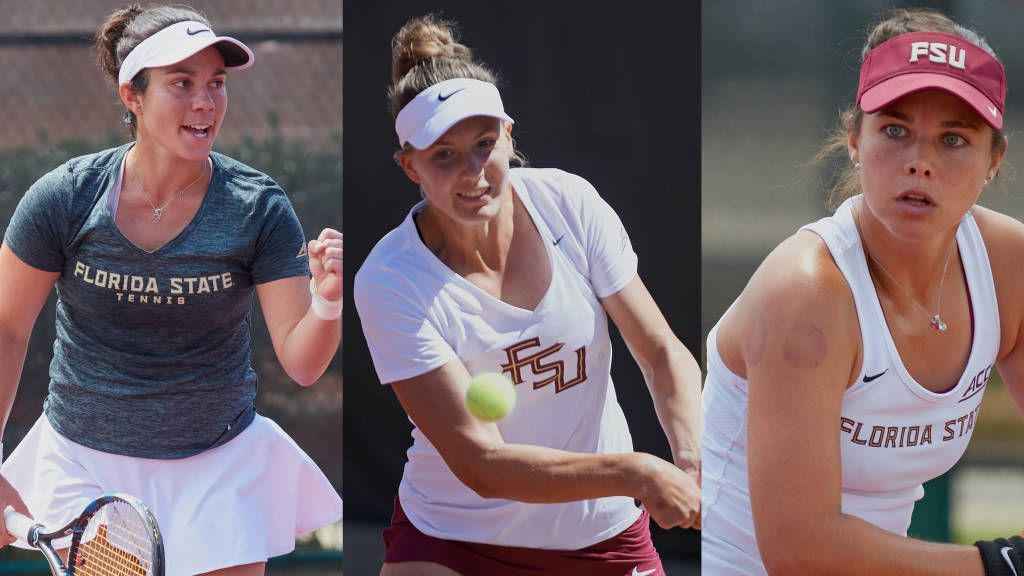 Trio Honored as Women's Tennis Named ITA All-Academic Team