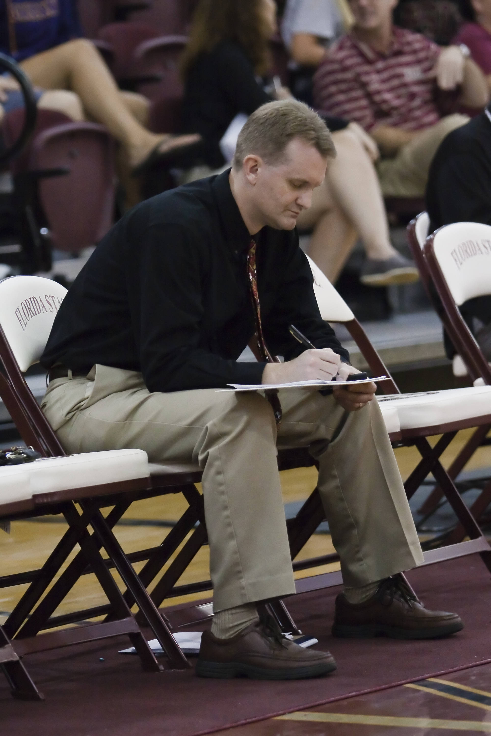 Head Coach Chris Poole