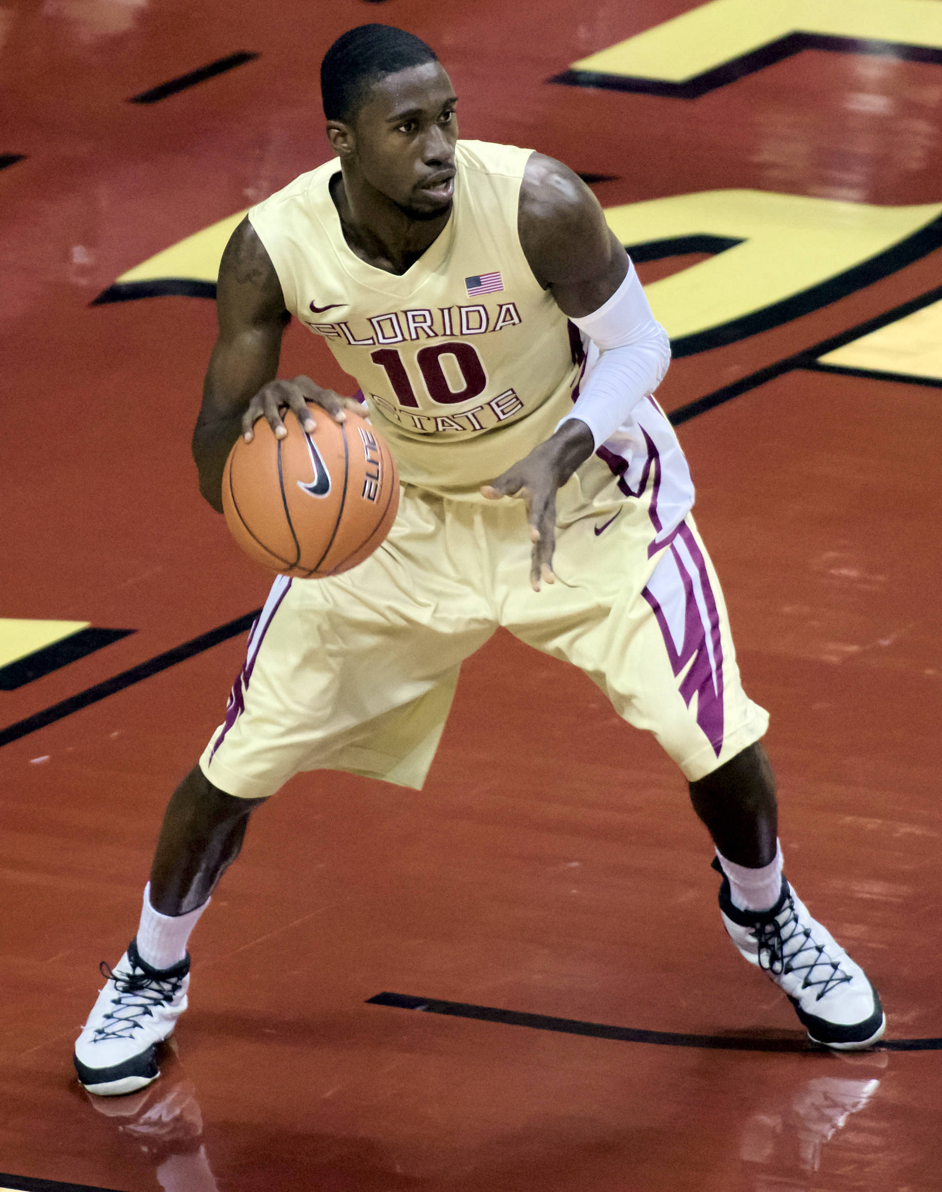 Okaro White (10), FSU vs St. Leo, 11/05/12. (Photo by Steve Musco)