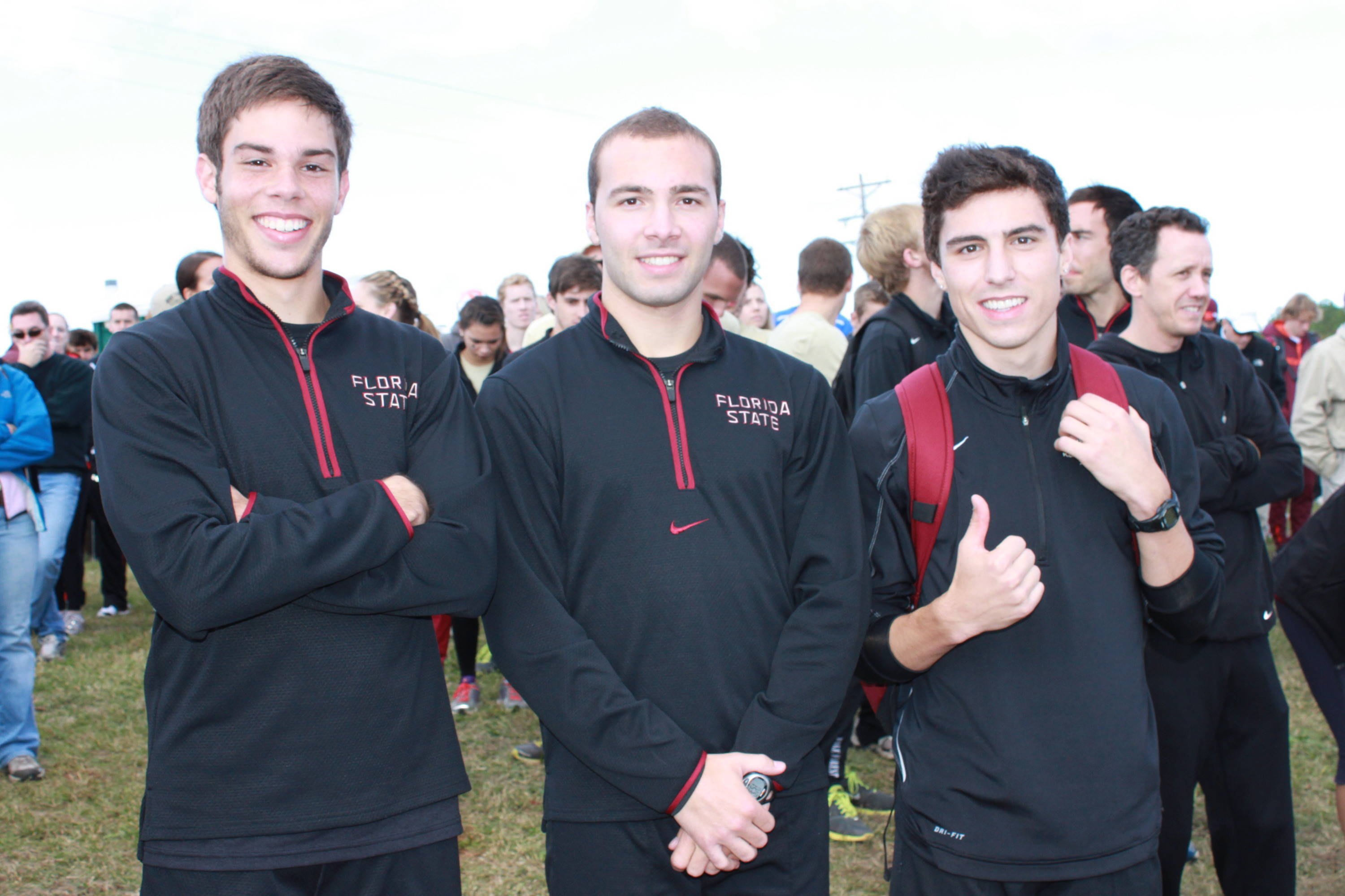 AJ del Valle, left, Jakub Zivec and Wes Rickman have earned ACC Rookie of the Year honors in 2011, 2010 and 2009, respectively.