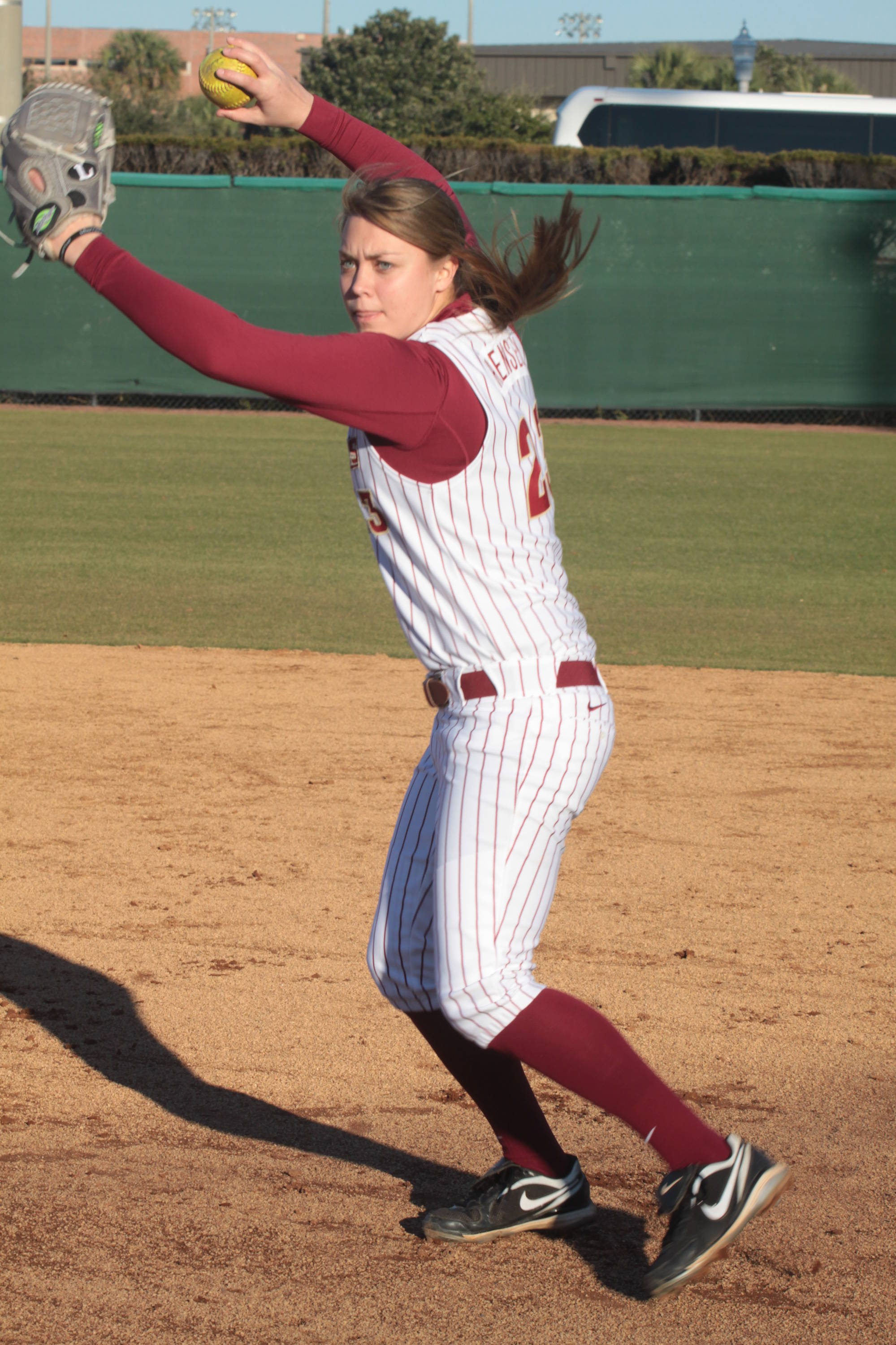 2011 FSU Seminole Softball Team  Kelly Hensley (23)