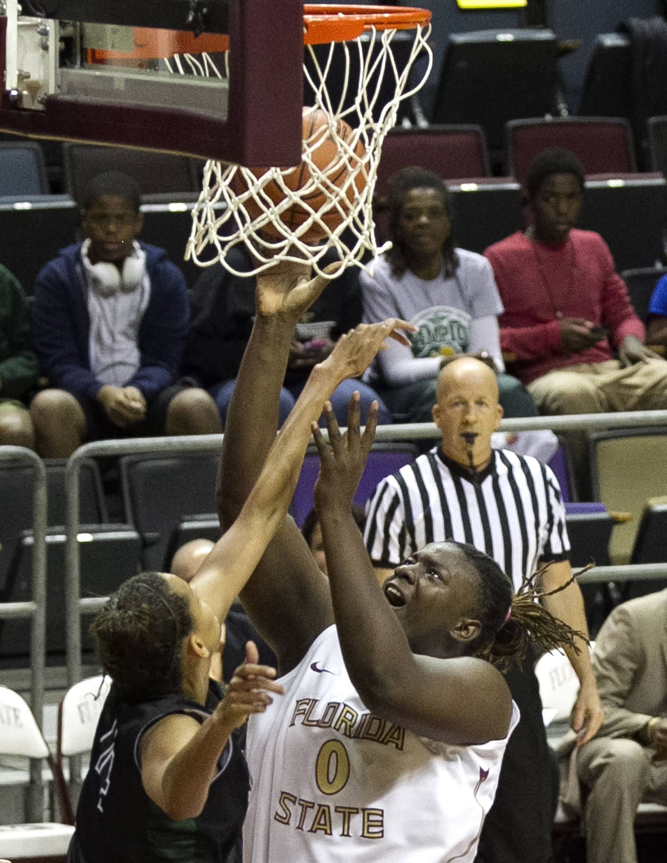 Kai James (0), FSU vs Stetson, 11-29-13,  (Photo by Steve Musco)