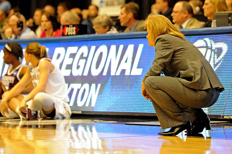 Oct. 2 ... Head coach Sue Semrau will be watching over her squad this year as it looks to make a return trip to the Big Dance.
