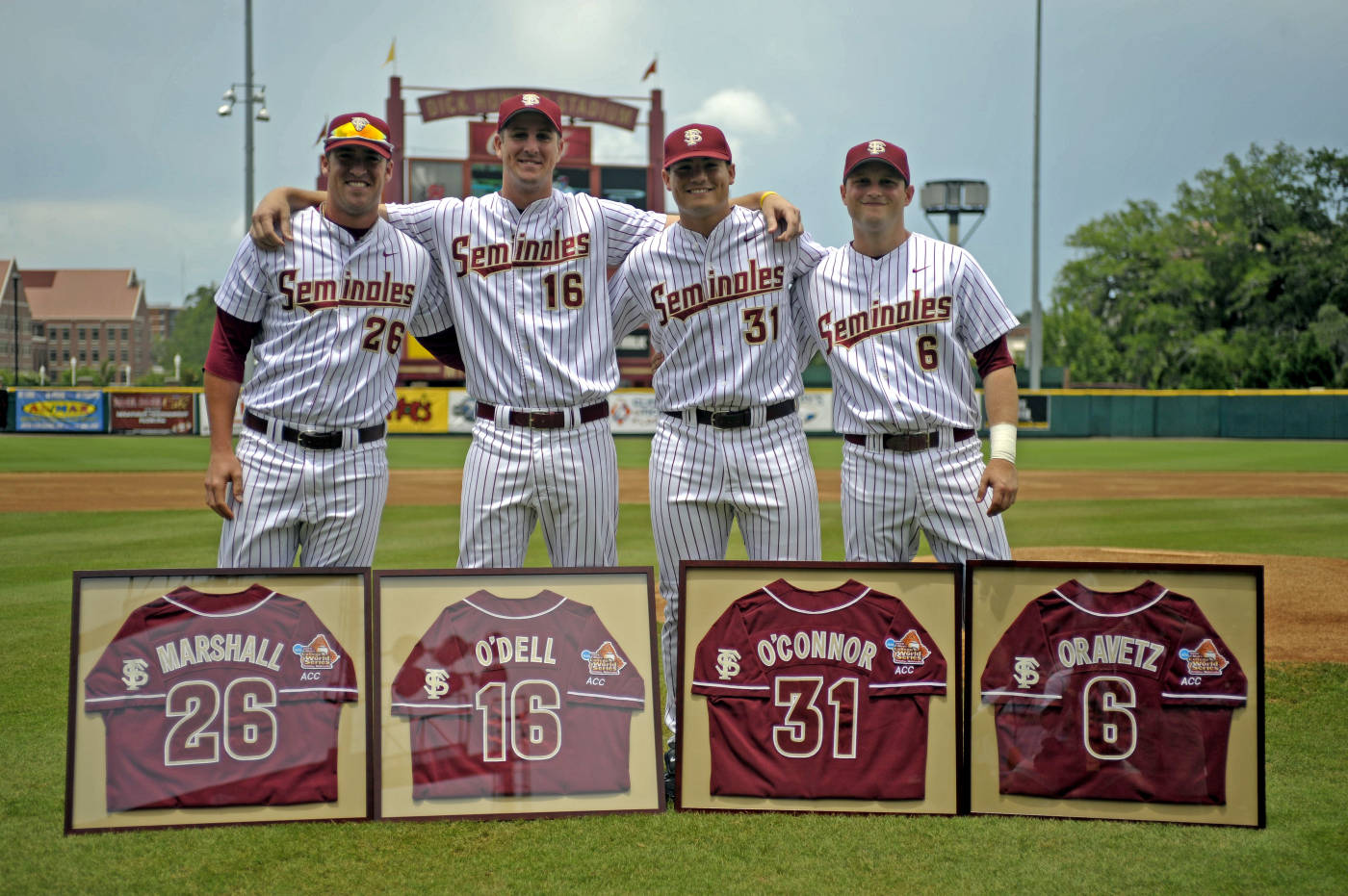 The 2009 Seminole Senior Class - (L to R): Jimmy Marshall, Bo O'Dell, Ruairi O'Connor and Tommy Oravetz