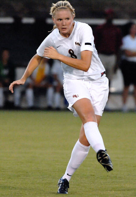 Lauren Switzer made her third straight start on Tuesday.