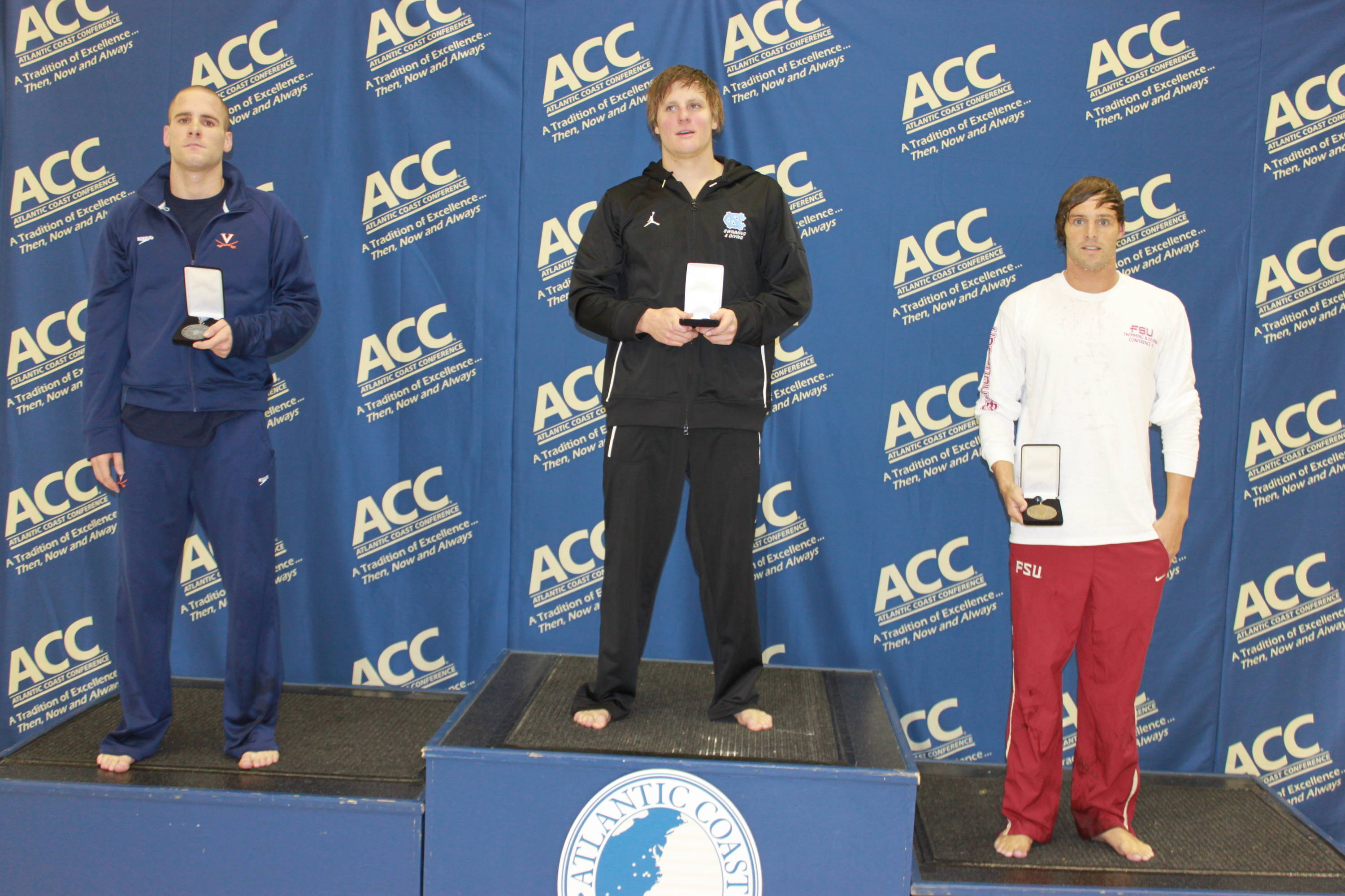 Robby Hayes on the podium