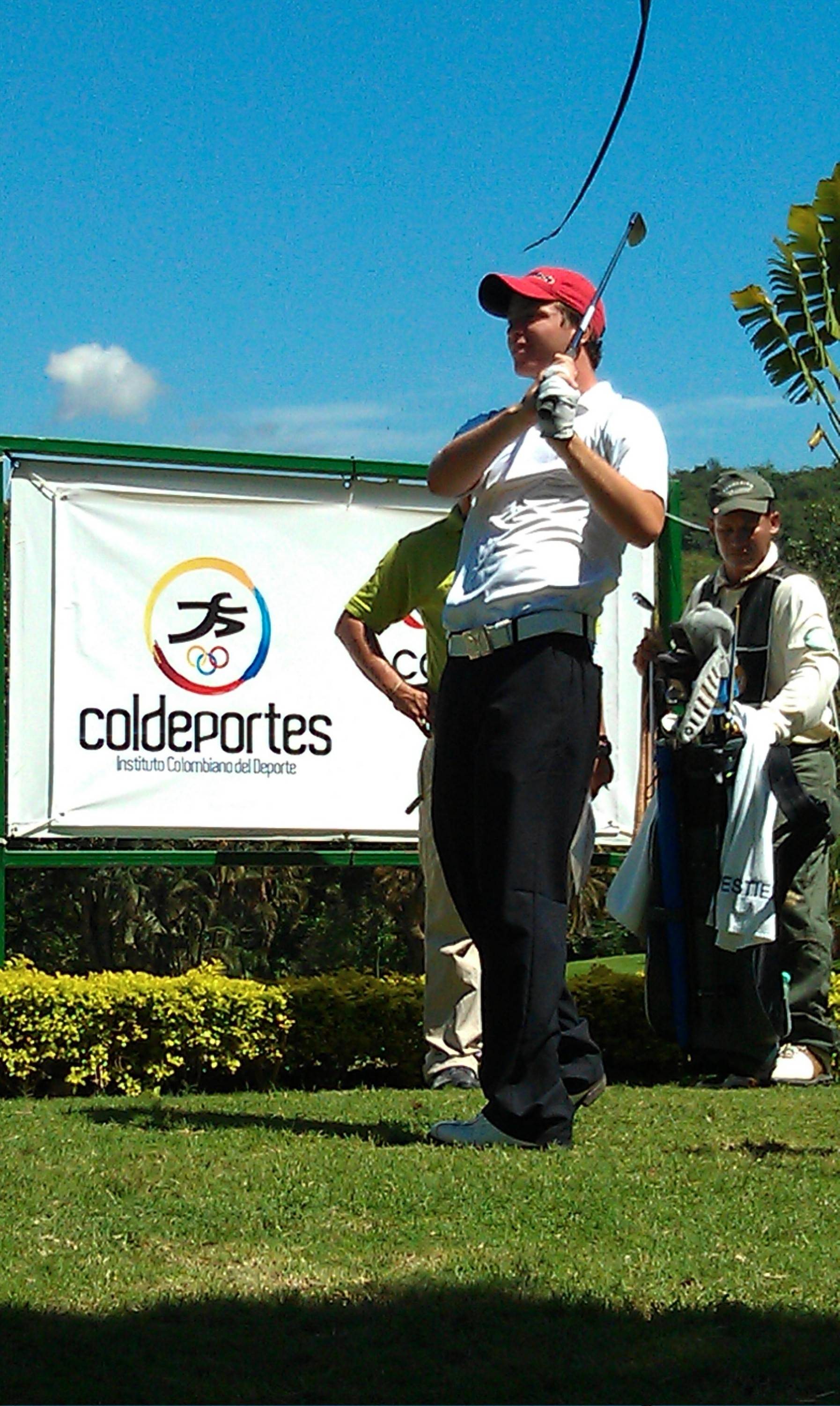 Joaquin Lolas at 2011 South American Am