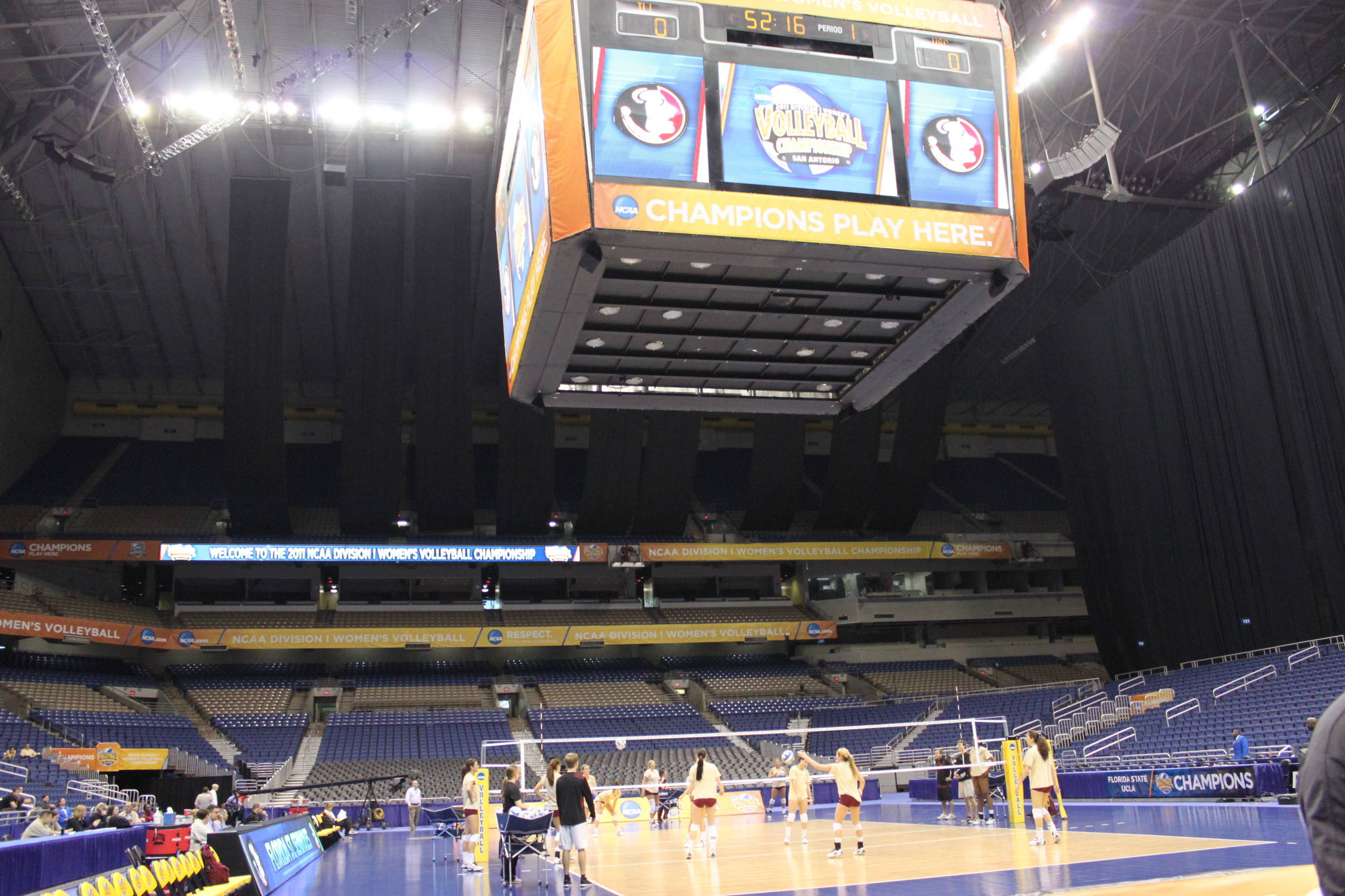 wide view of practice