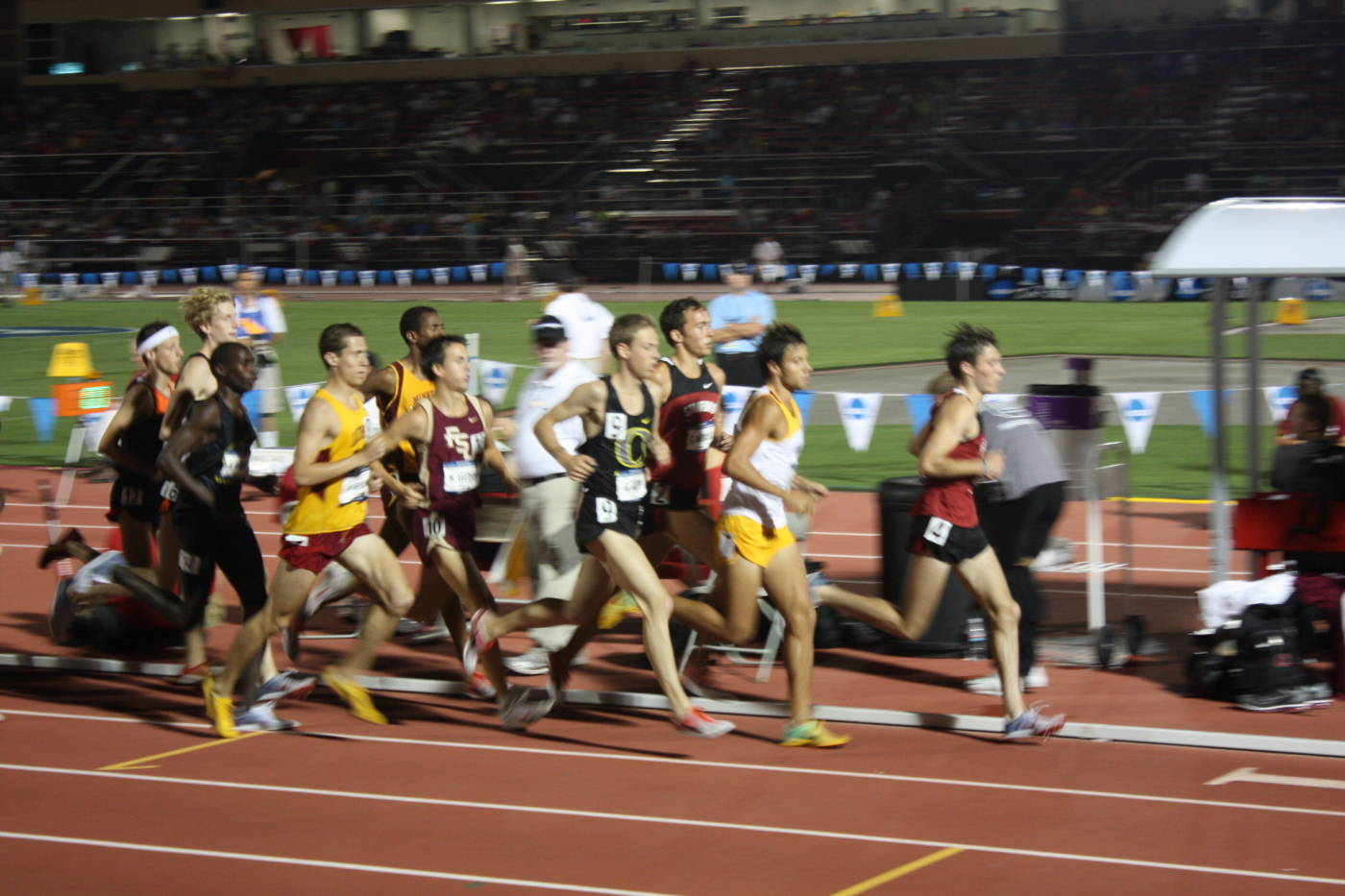 Matt Leeder in the 5K.