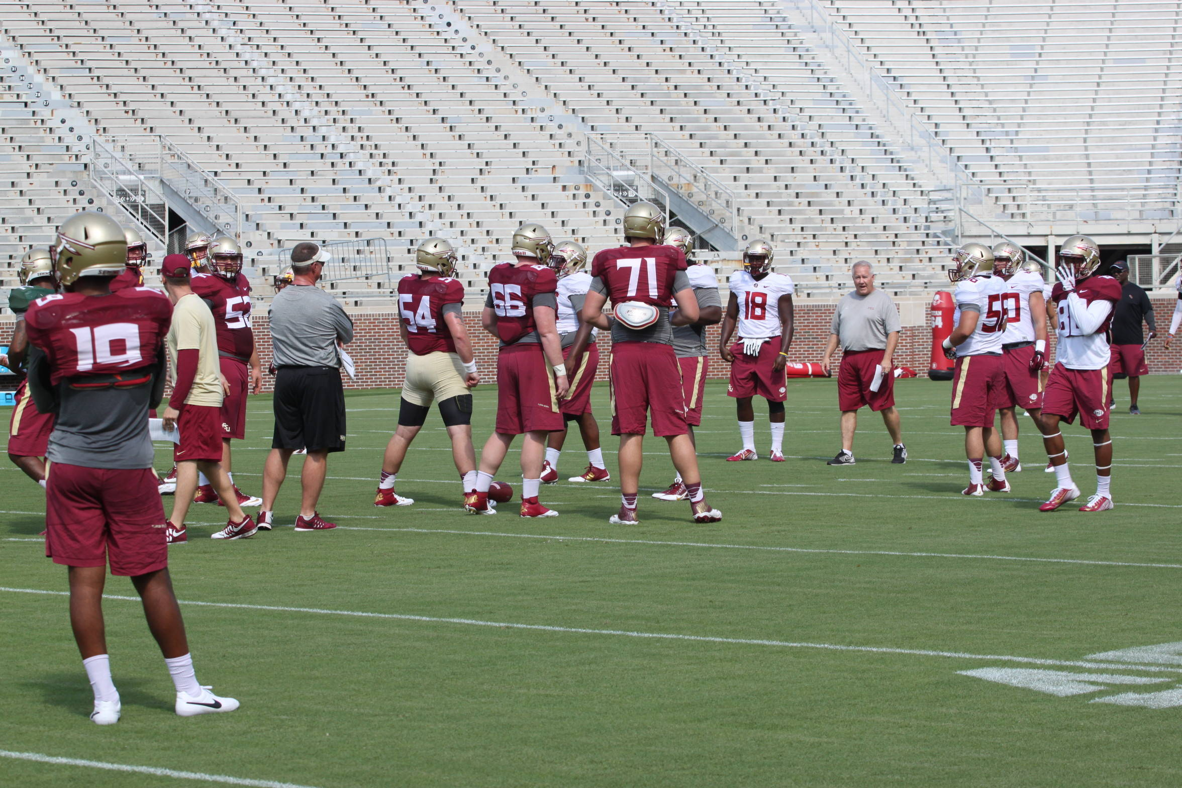 Florida State Football Practice – Sunday, August 9