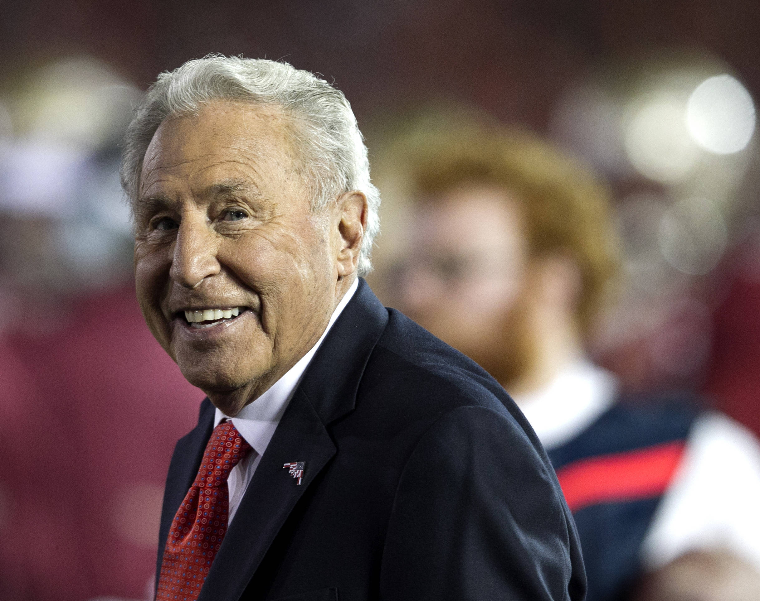 TV Analyst and Former Nole Lee Corso, BCS Championship, FSU vs Auburn, Rose Bowl, Pasadena, CA,  1-06-14,  (Photo by Steve Musco)