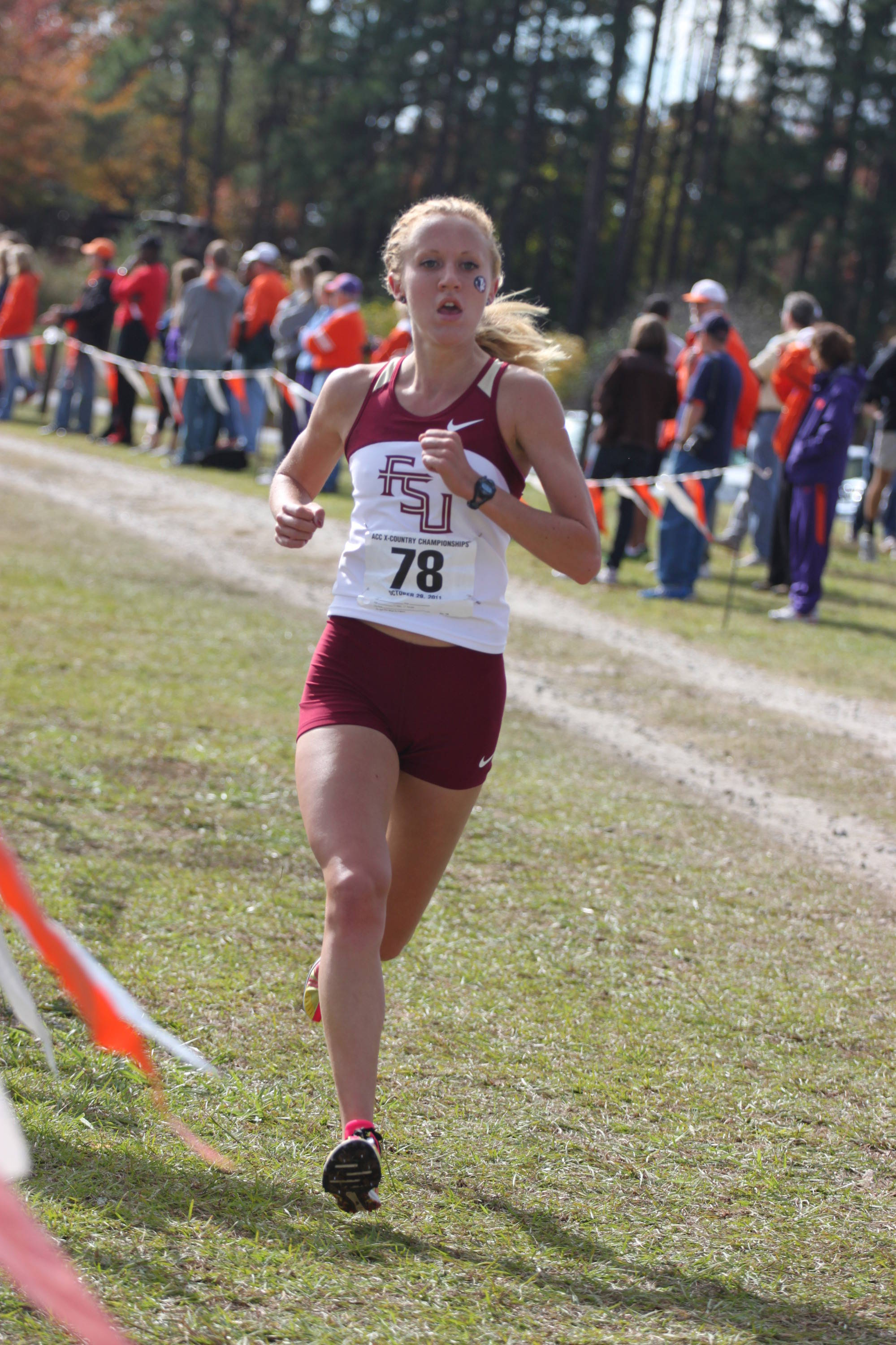 Colleen Quigley earned ACC Freshman of the Year honors in 2011