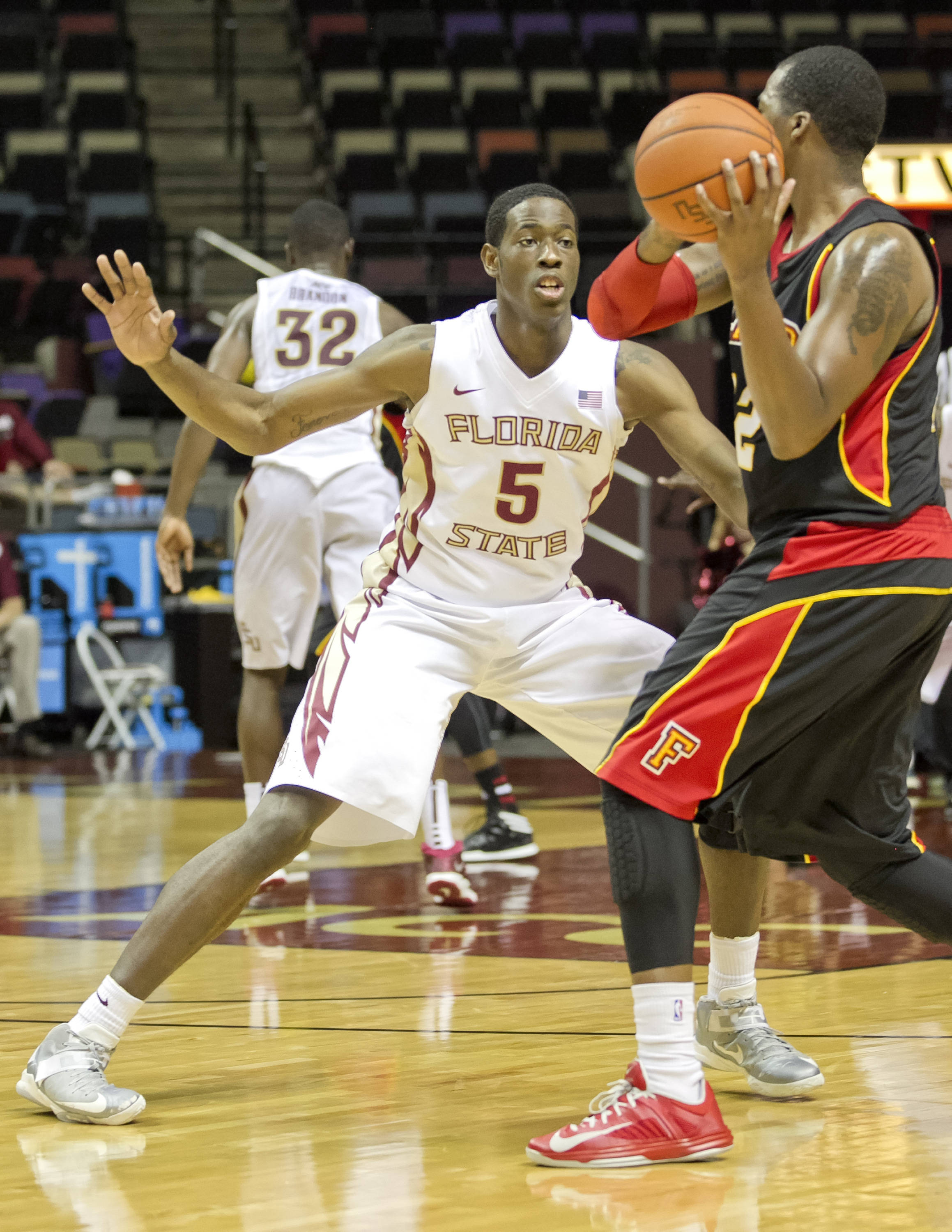Jarquez Smith, FSU vs Flagler College,  11-4-13, (Photo by Steve Musco)