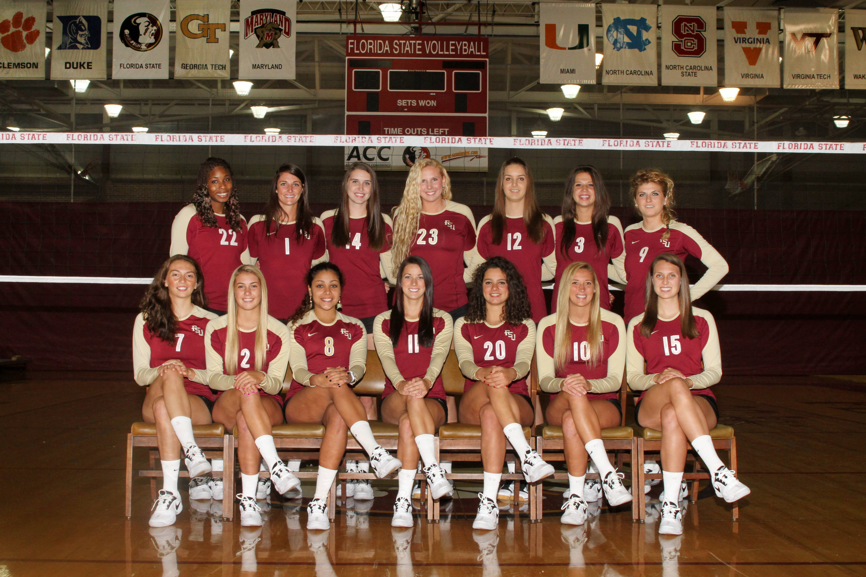 Here is your 2011 Florida State Indoor Volleyball Team