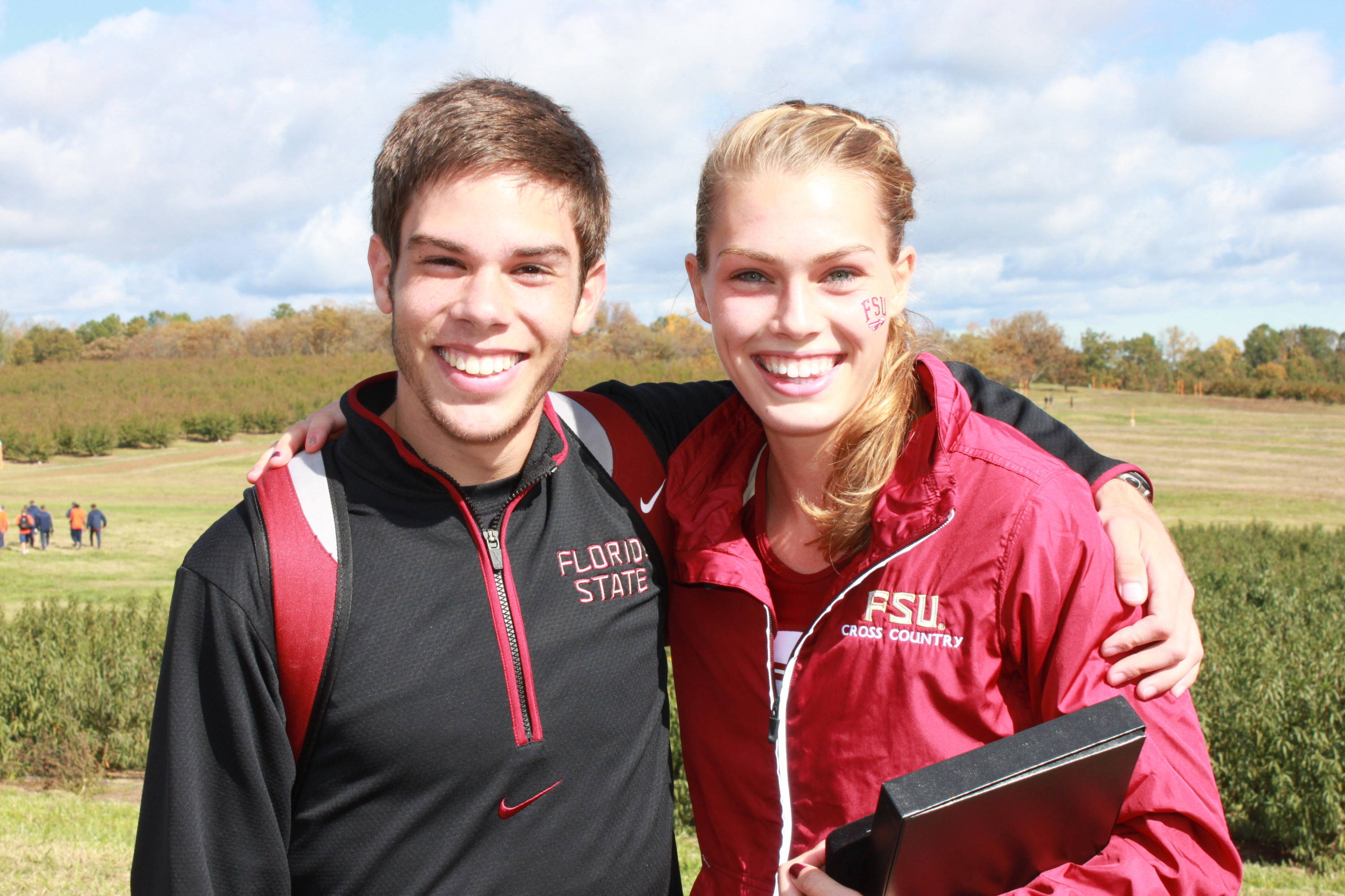 AJ del Valle and Colleen Quigley gave FSU a sweep of ACC Freshman of the Year honors at the 2011 championships