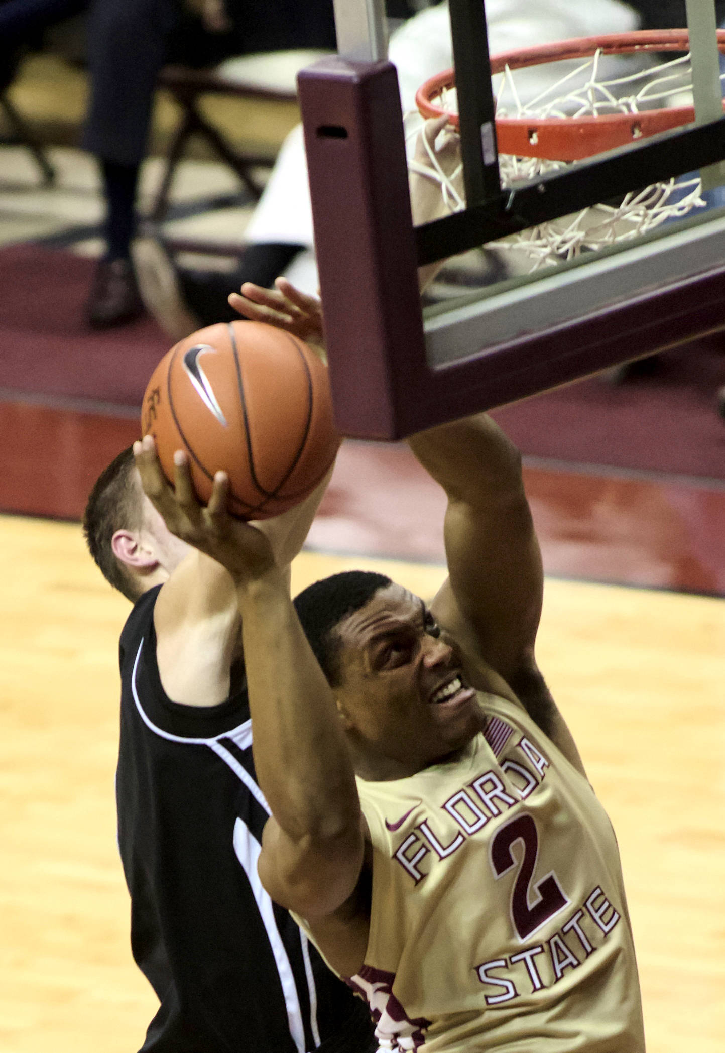Terrance Shannon (2), FSU vs St. Leo, 11/05/12. (Photo by Steve Musco)