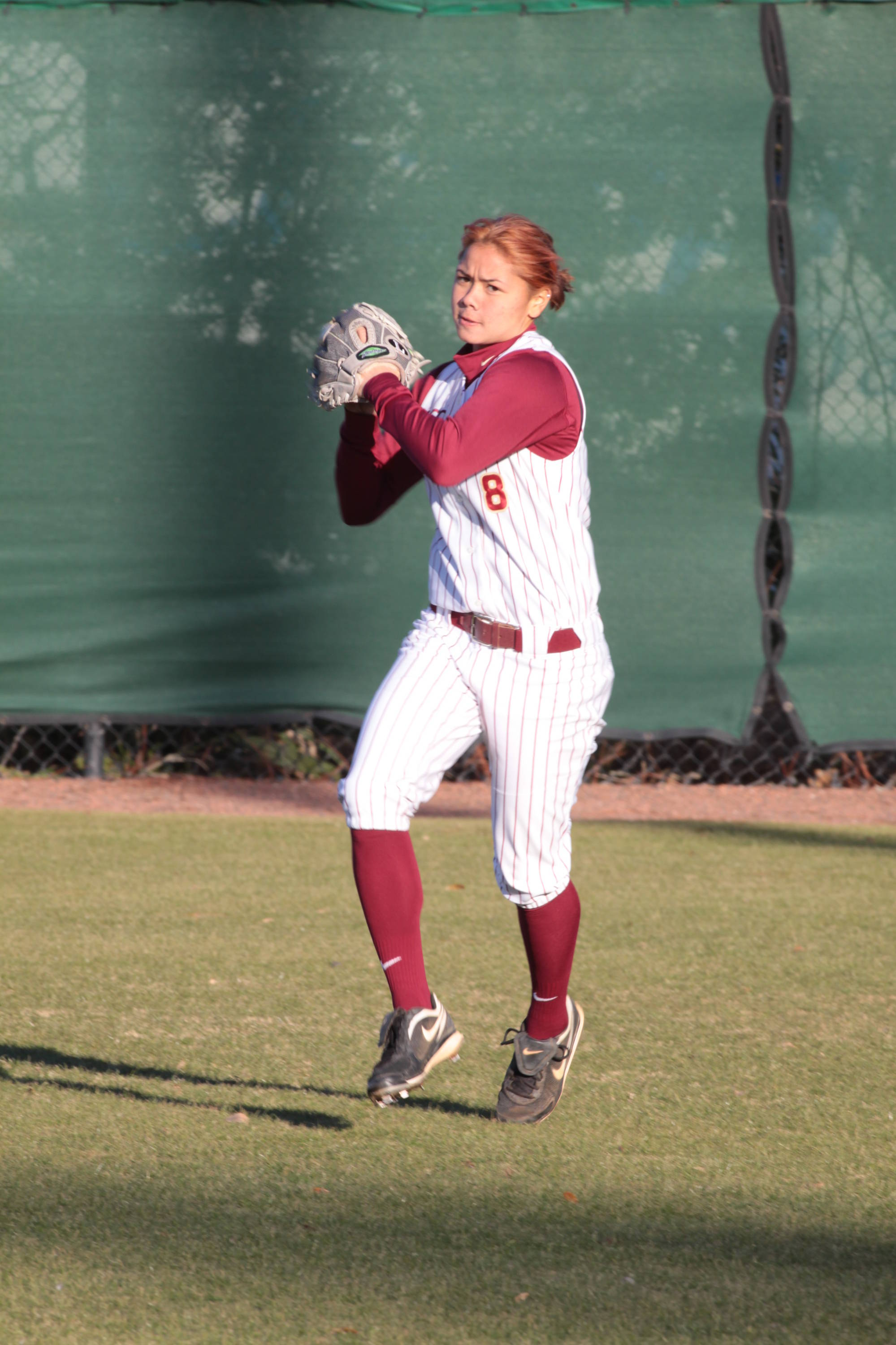 2011 FSU Seminole Softball Team  Courtney Senas (8)